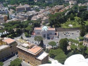 Die spoorwegstasie, Vatikaanstad
