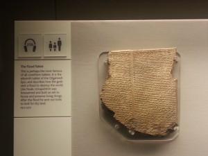 Die Sondvloed-steentjie uit die Gilgamesh-epos