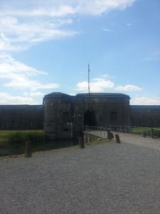 Fort Breendonk, 'n konsentrasie kamp suid van Antwerp