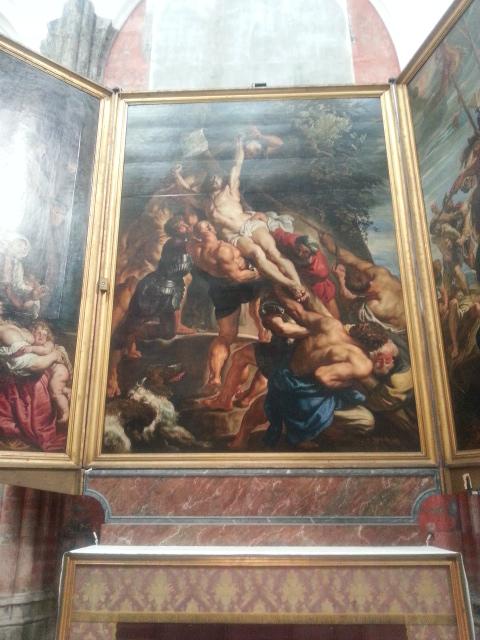 Kruisafneming van Peter Paul Reubens in die Onze-Lieve-Vrouw-katedraal in Antwerp
