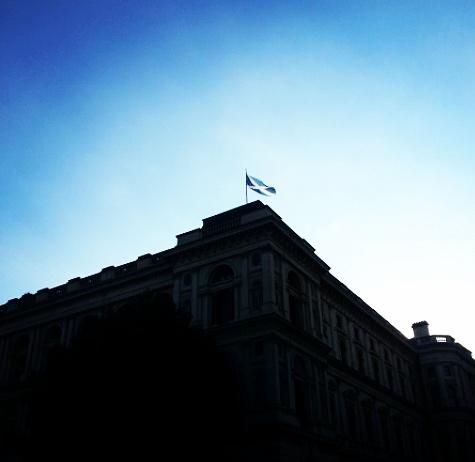 Sononder op Whitehall