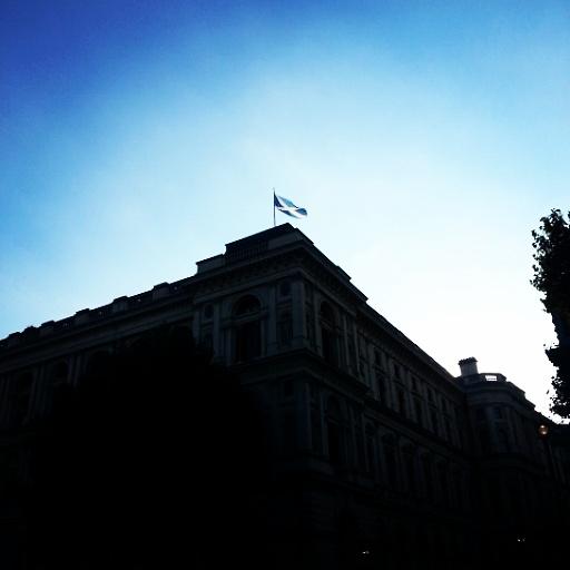 Die vlag van Skotland