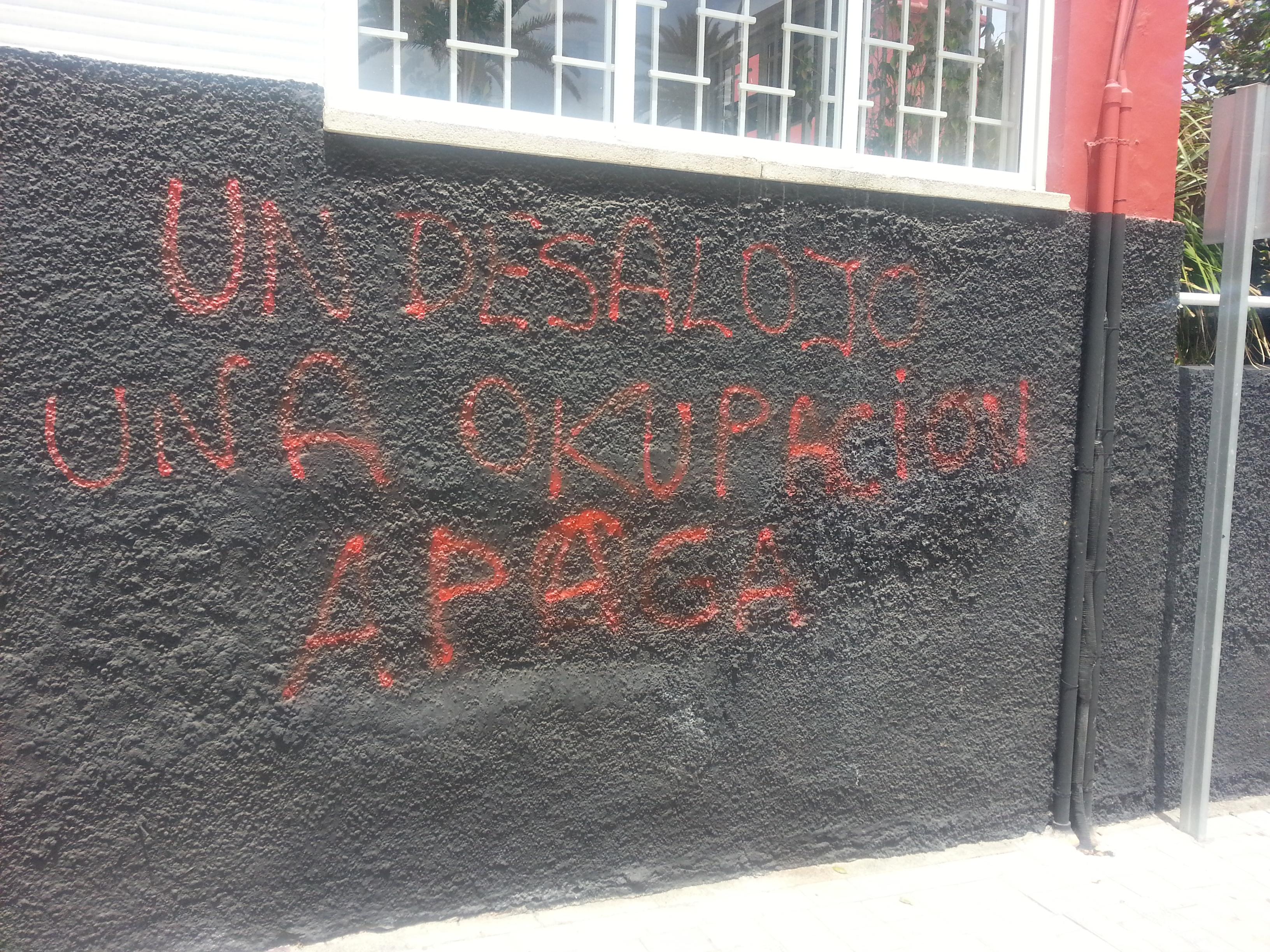 Protes teen Spaanse oorheersing
