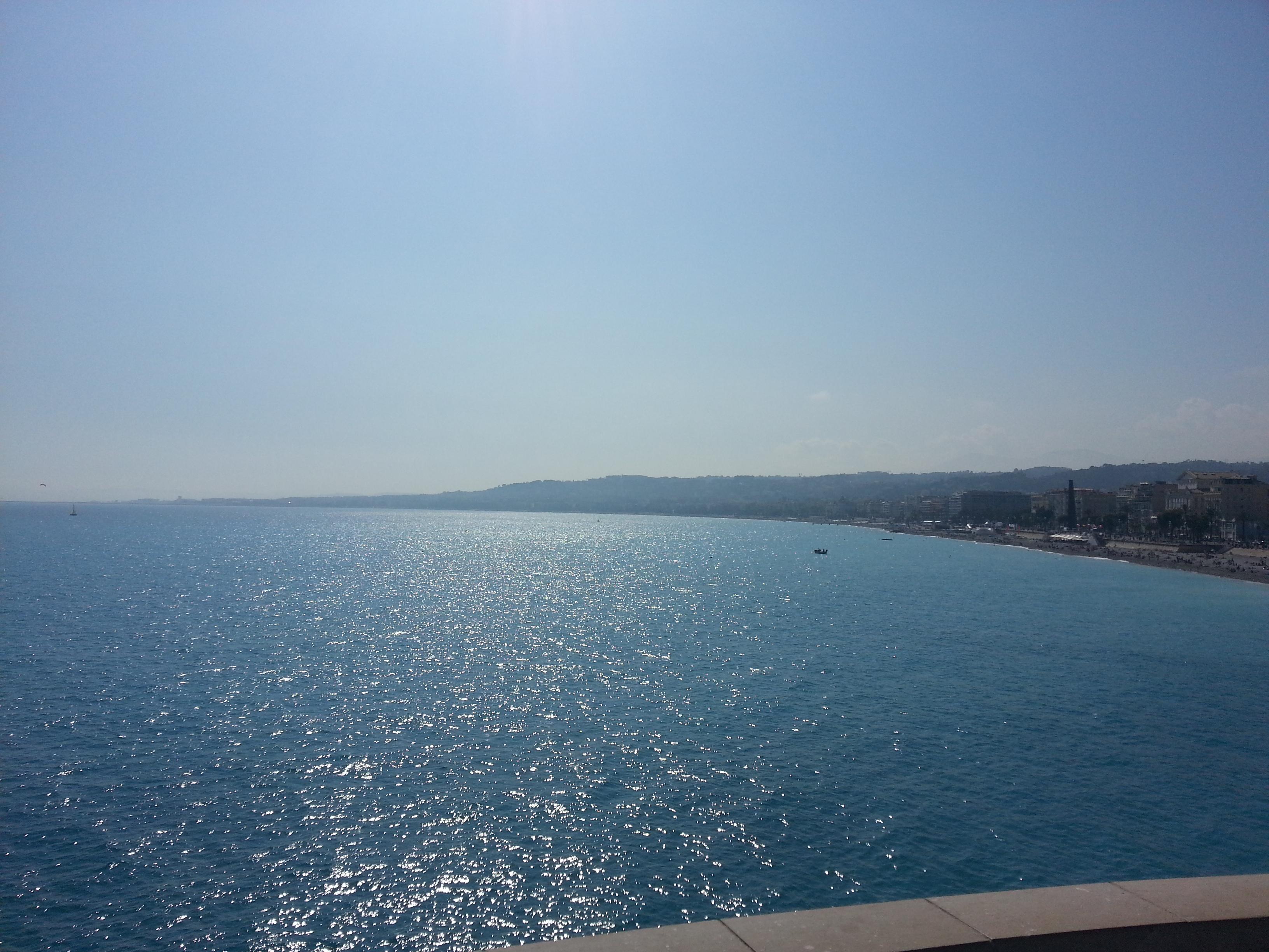 Die strand van Nice