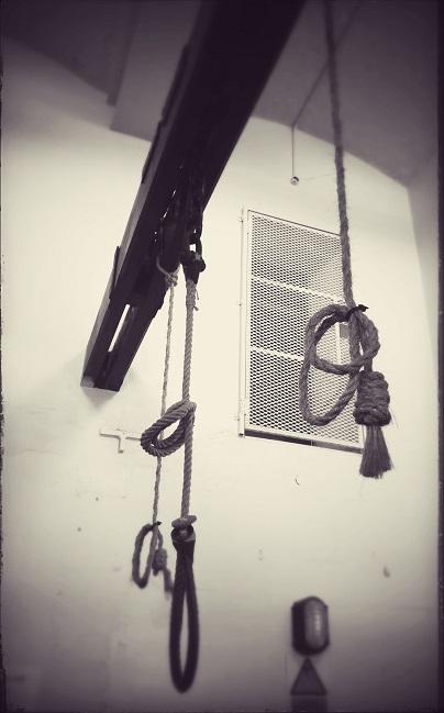 Die galg by Crumlin Road Gaol