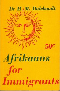 Afrikaans for Immigrants