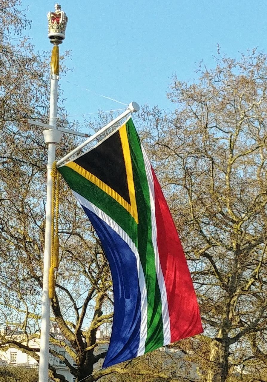 Die vlag va Suid-Afrika