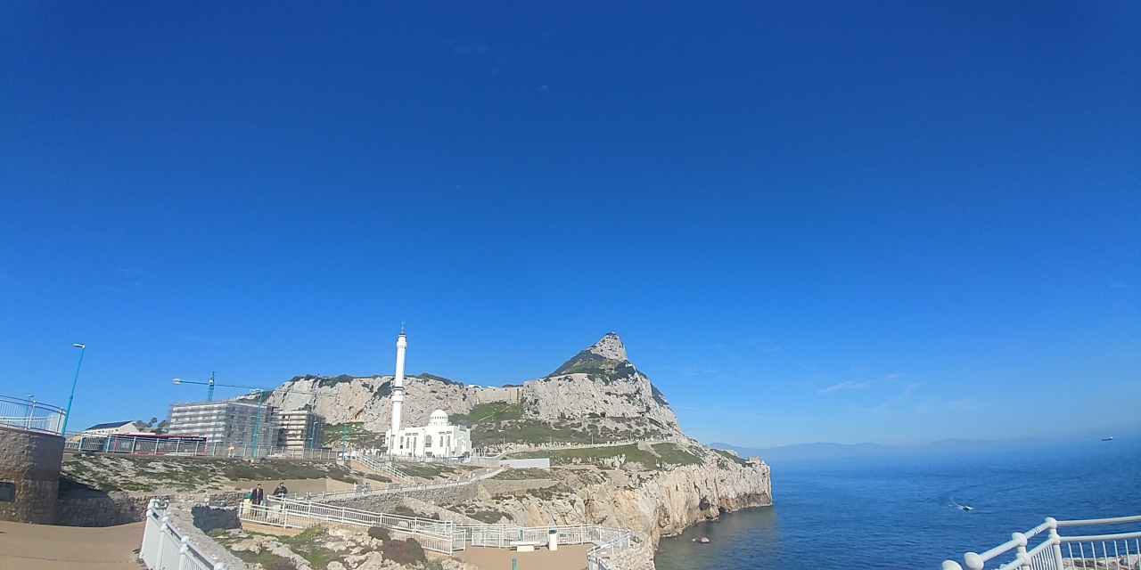 Europapunt, Gibraltar