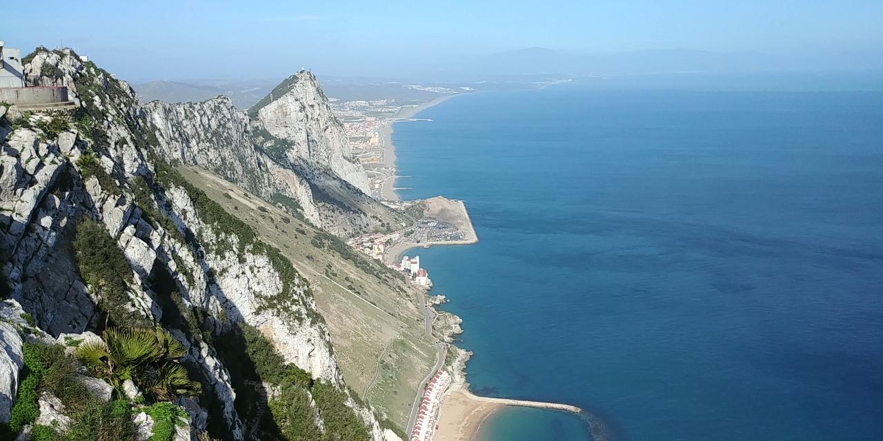 Die ooste kant van Gibraltar