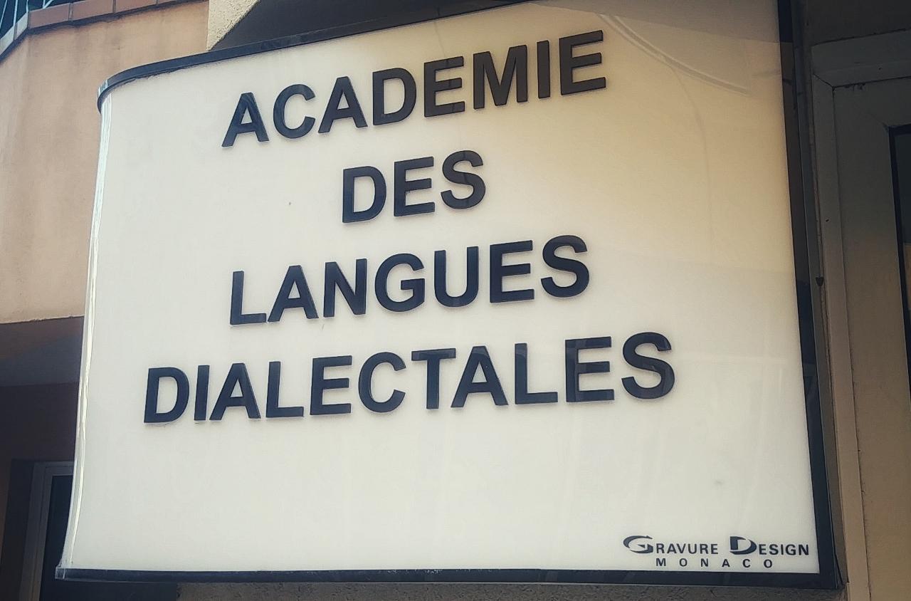 Die Akademie van Dialektale Tale in Monaco