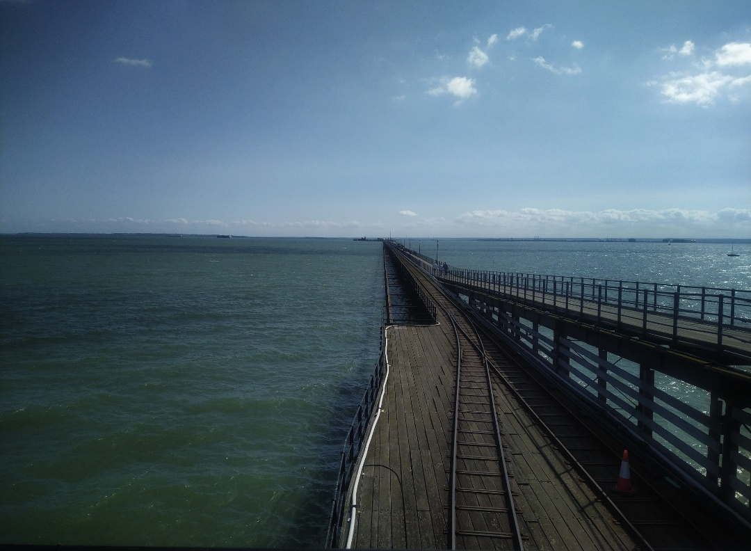 Die loop na Southend Pier